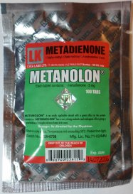 Metanolon 5mg (methandienone oral)